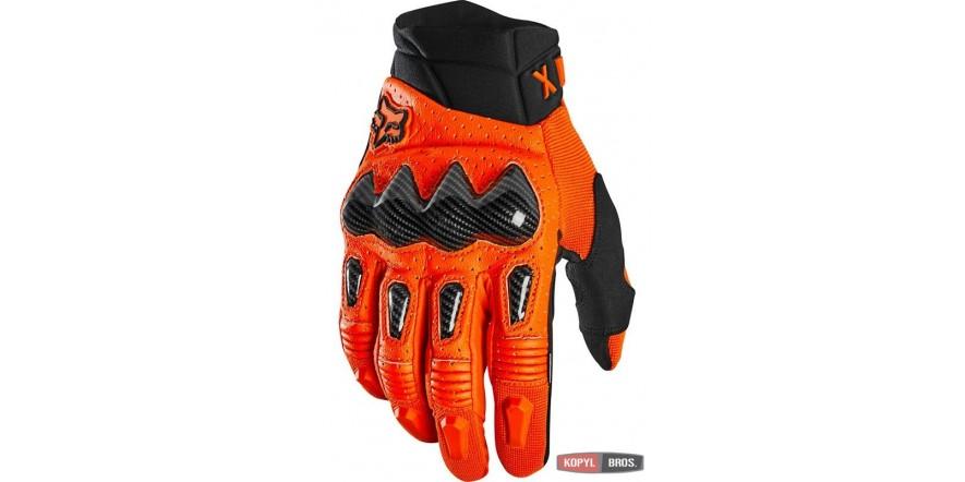 Мото перчатки FOX Bomber Glove [FLO ORANGE]
