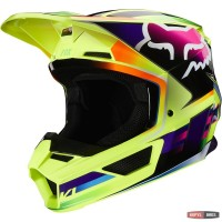 Мотошлем FOX V1 GAMA HELMET [YELLOW] XL