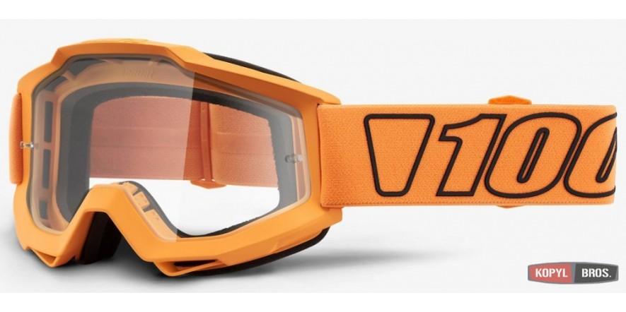 Мото очки 100% ACCURI Goggle Luminari - Clear Lens