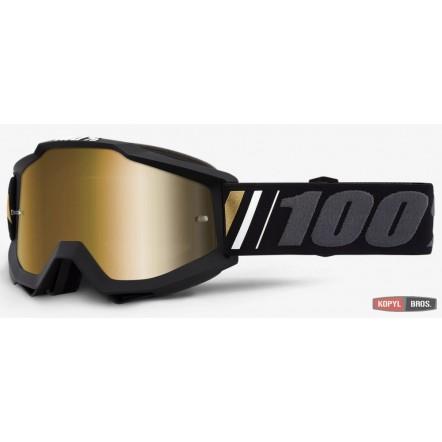 Мото очки 100% ACCURI Goggle Off - Mirror True Gold Lens