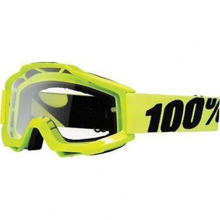 Очки МХ ACCURI Moto Goggle Fluo Yellow