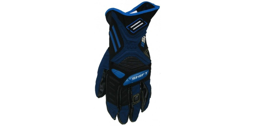 Перчатки мото SHIFT Hybrid Delta Glove Blue L