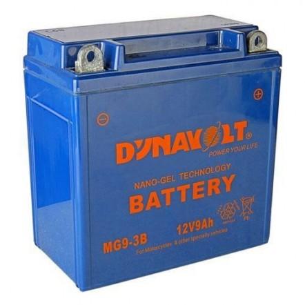 Мото аккумулятор DYNAVOLT MG7-3А