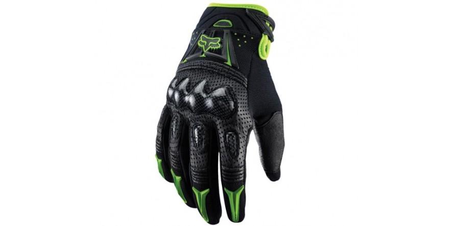 перчатки fox bomber зеленый
