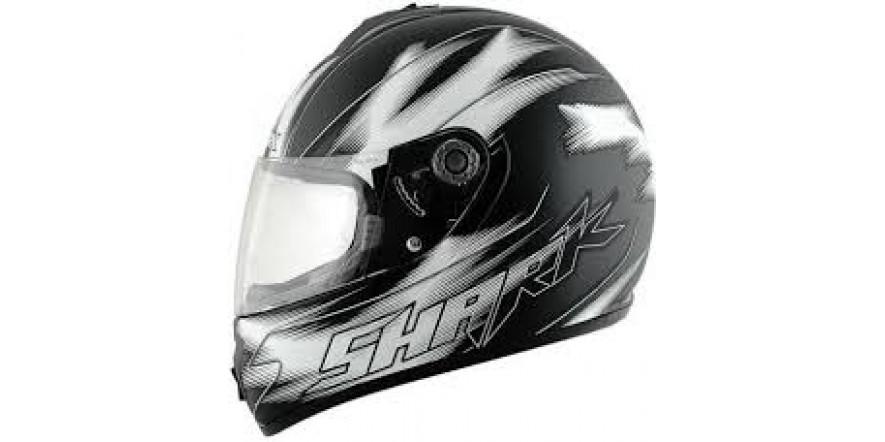 Шлем SHARK S600 Exit Mat черный зеленый