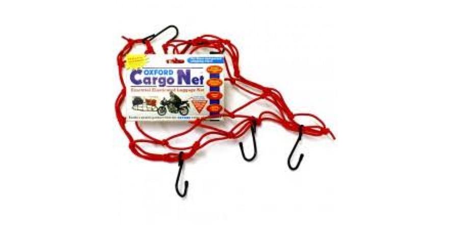 багажная сетка oxford cargo nets red