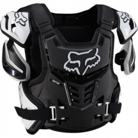 Защита тела Черепаха FOX RAPTOR VEST BLACK-WHITE L/XL