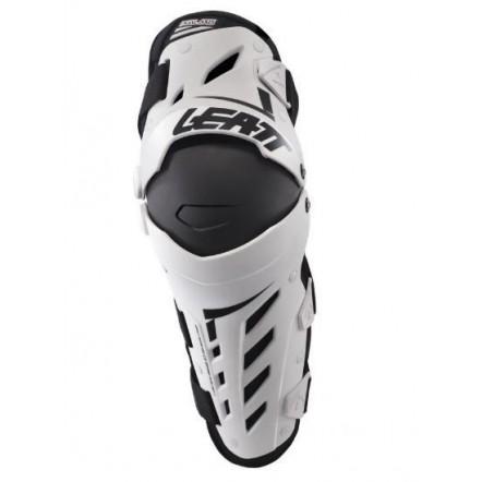 наколенники Knee and Shin Guard Dual Axis White/black Leatt
