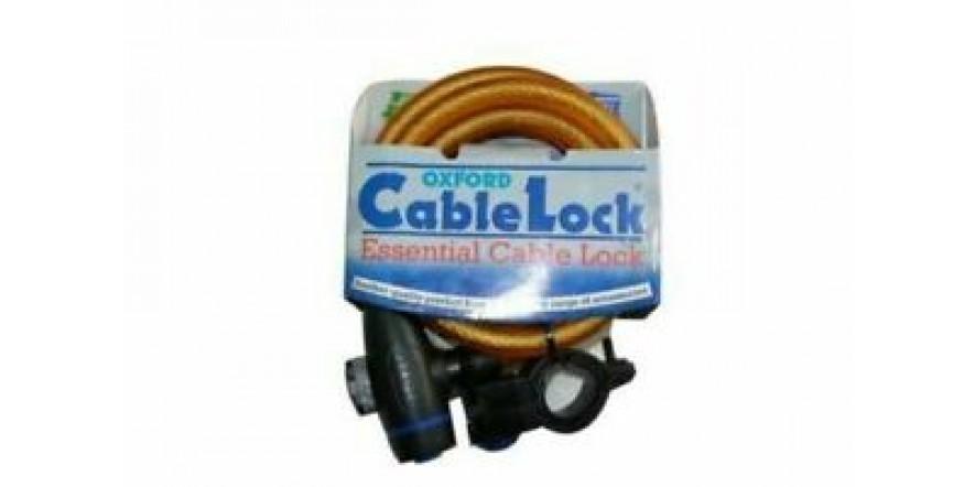 защитный трос OXFORD Cable Lock 1.8m GOLD