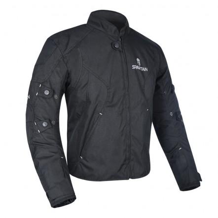 Мотокуртка Oxford J17S Spartan Short Jacket All Black XL
