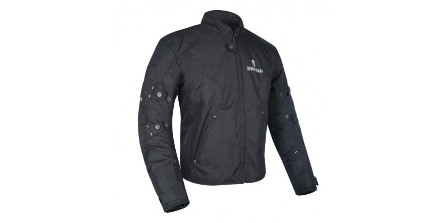 Oxford J17S Spartan Short Jacket All Black