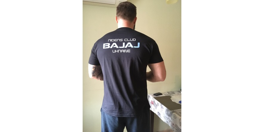 футболка Bajaj riders club