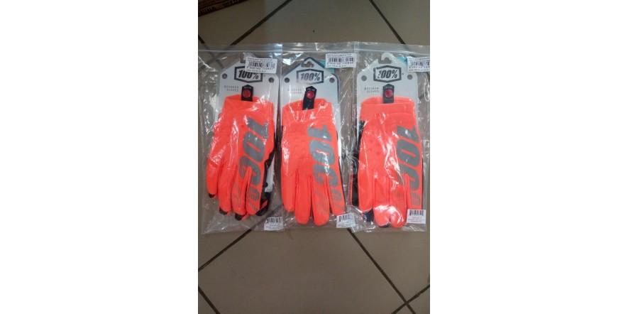 Зимние мотоперчатки Ride 100% BRISKER Cold Weather Fluo Orange
