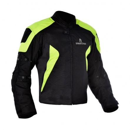 Куртка Oxford J17S Spartan Short Jacket Black/Fluo