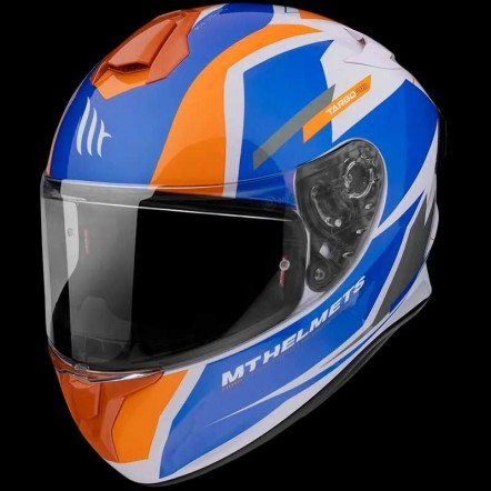 Мотошлем MT Targo Pro Sound Orange L