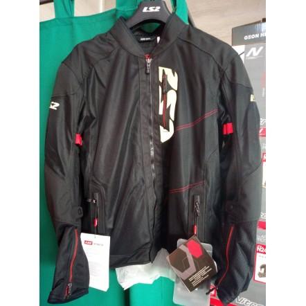 Текстильная туринговая куртка LS2 ALBA Man jacket black