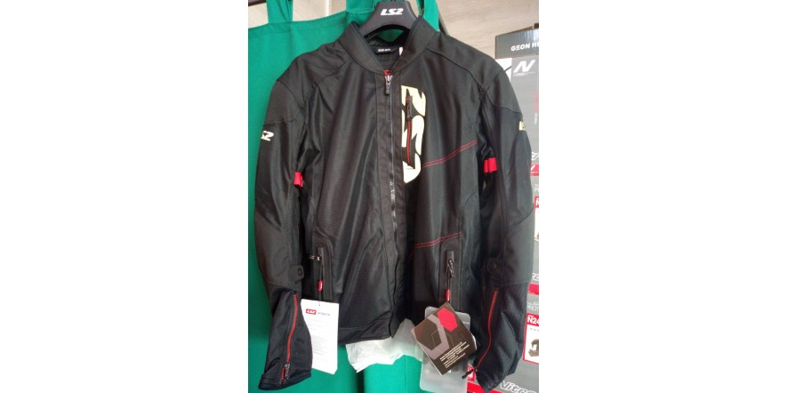 LS2 ALBA Man jacket black