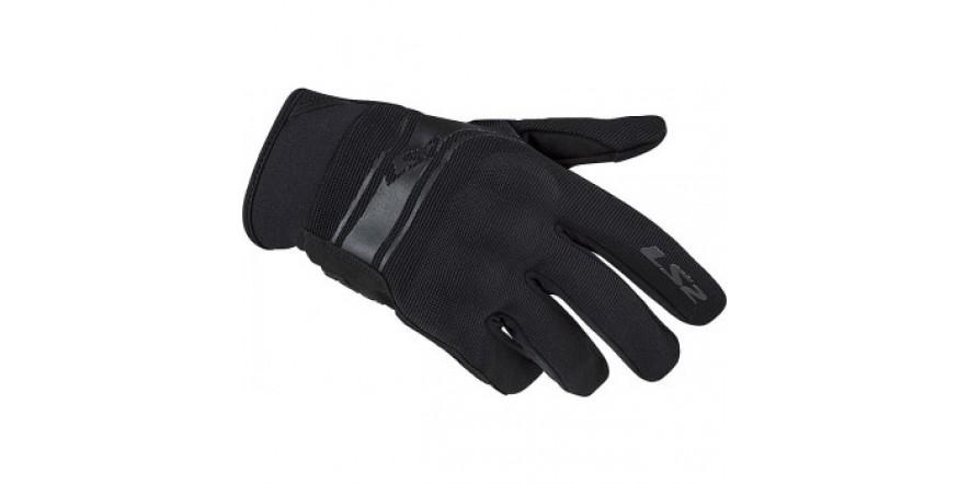 LS2 DART Man Gloves Black