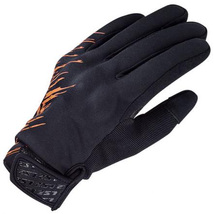 LS2 Jet Man Gloves Grey Orange L