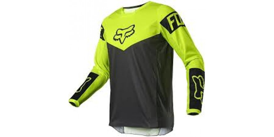 FOX 180 REVN JERSEY [Flo Yellow]