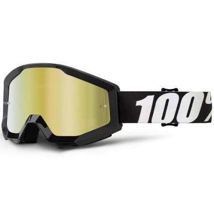 Мото очки 100% STRATA Goggle Outlaw - Mirror Gold Lens