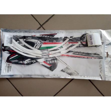 Наклейки комплект Furia White Benelli TNT 25