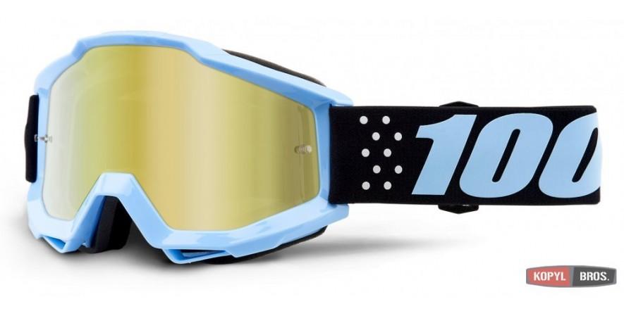 Мото очки 100% ACCURI Goggle Taichi - Mirror Gold Lens