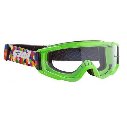 Очки кроссовые (маска) Geon Lykan GN90 green