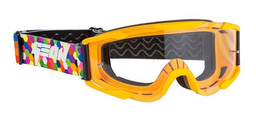 Очки кроссовые (маска) Geon Lykan GN90 orange