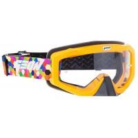 Очки кроссовые (маска) Geon Integra GN81 orange,