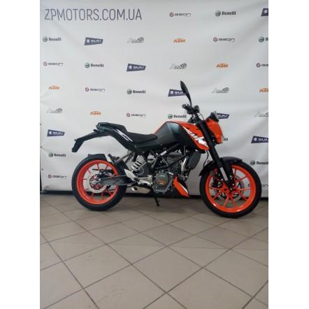 Мотоцикл KTM 200 DUKE