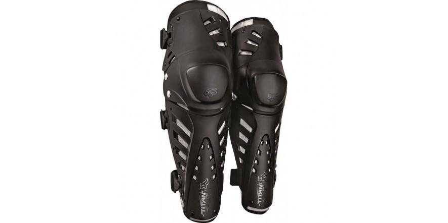 FOX Titan Pro Knee Guard CE черные