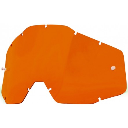 Линза к очкам MX RACECRAFT/ACCURI/STRATA Replacement Lens Orange Anti-Fog