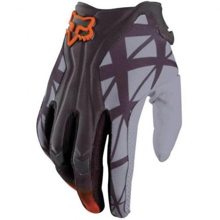 Мото перчатки FOX FLEXAIR серо-оранжевые
