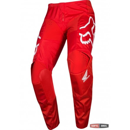 Мото штаны FOX 180 HONDA PANT [RED] 38