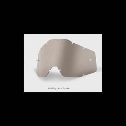 Линза к очкам MX RACECRAFT/ACCURI/STRATA Replacement Lens Smoke Anti-Fog