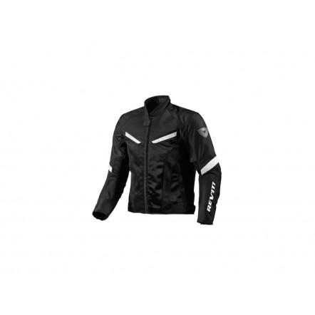 Куртка REVIT GT-R AIR текстиль black-white L