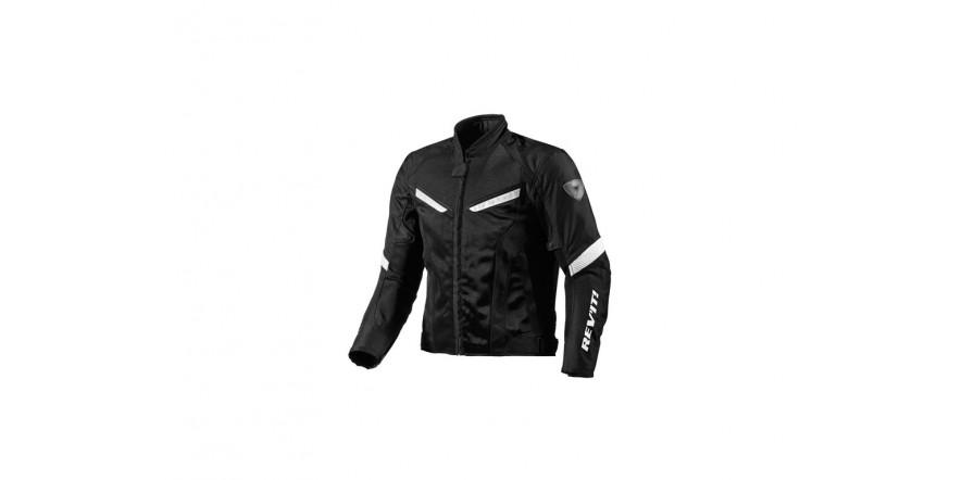 Куртка REVIT GT-R AIR текстиль black-white