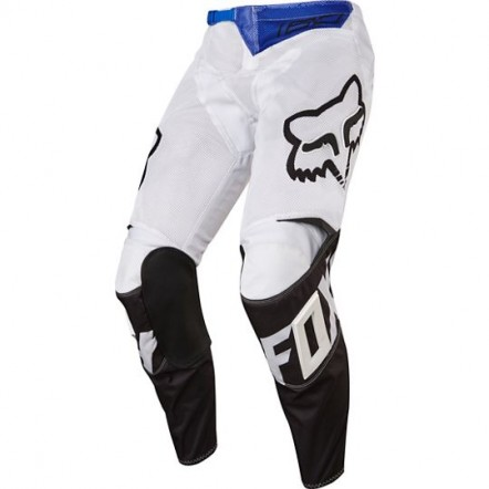 Мото штаны FOX 180 RACE AIRLINE PANT бело-черные 34
