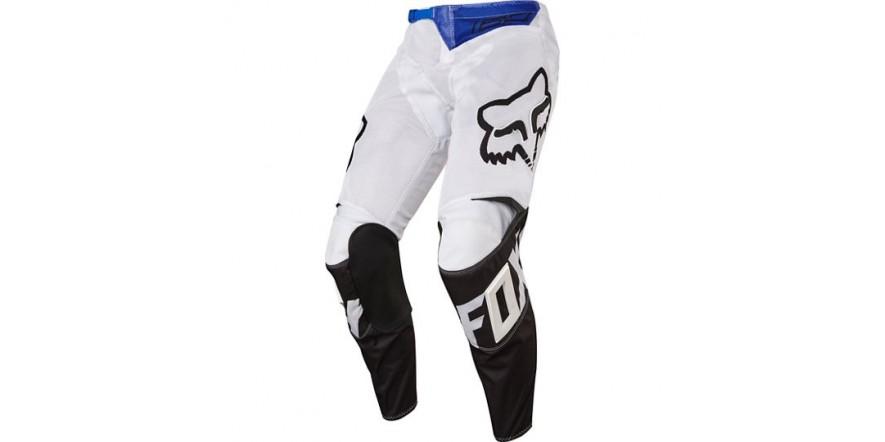 Мото штаны FOX 180 RACE AIRLINE PANT бело-черные 34