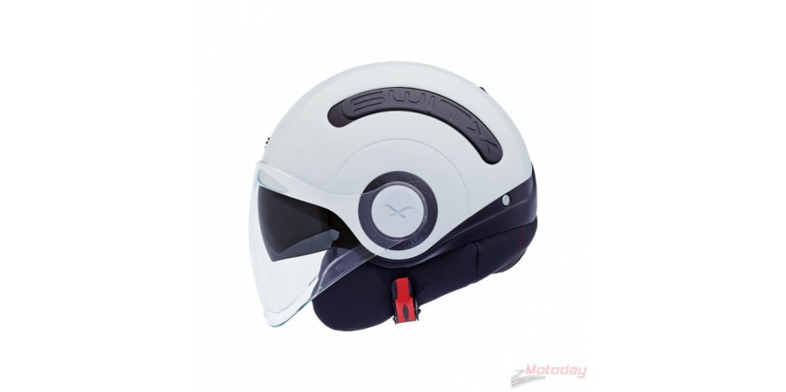 Шлем NEXX SX10 черно-білий