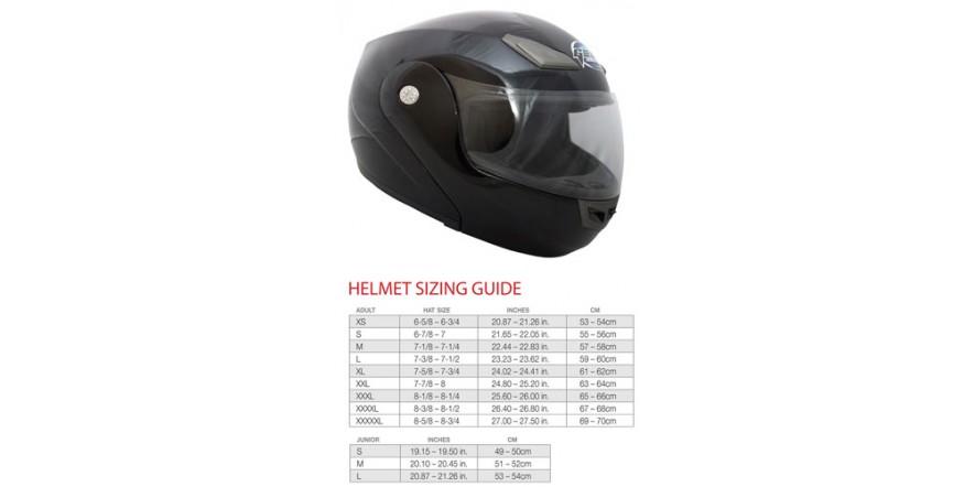 Шлем GEON 936 Модуляр black (лак)