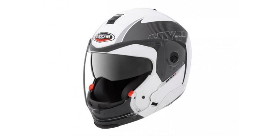 Шлем caberg hyperx mod white anthracite