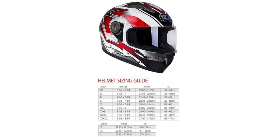 Шлем GEON 968 Интеграл Swift white-red