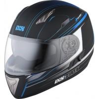 Мотошлем IXS HX 1000 fork чёрный синий мат M