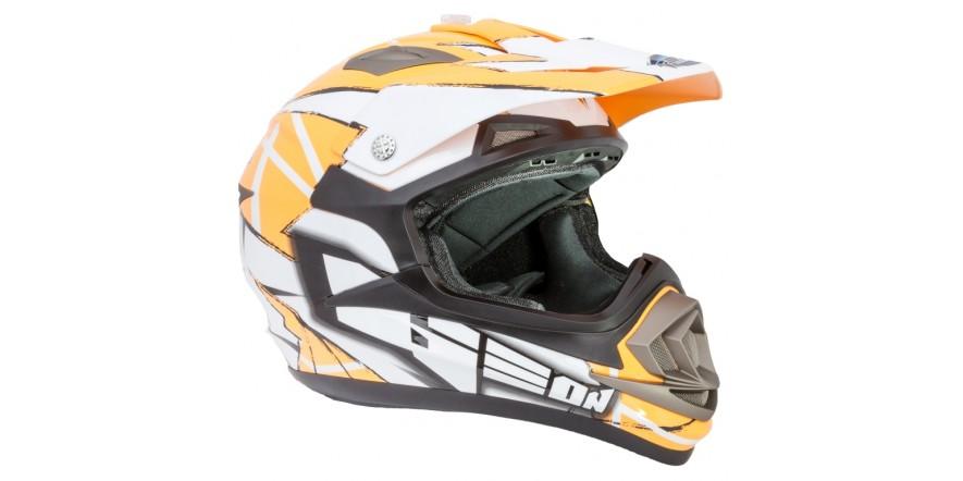 Шлем GEON 614 Кросс MX-Spirit Neon Orange
