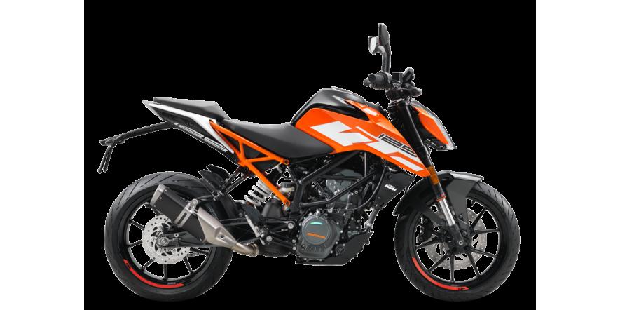 Мотоцикл KTM 125 DUKE 2020