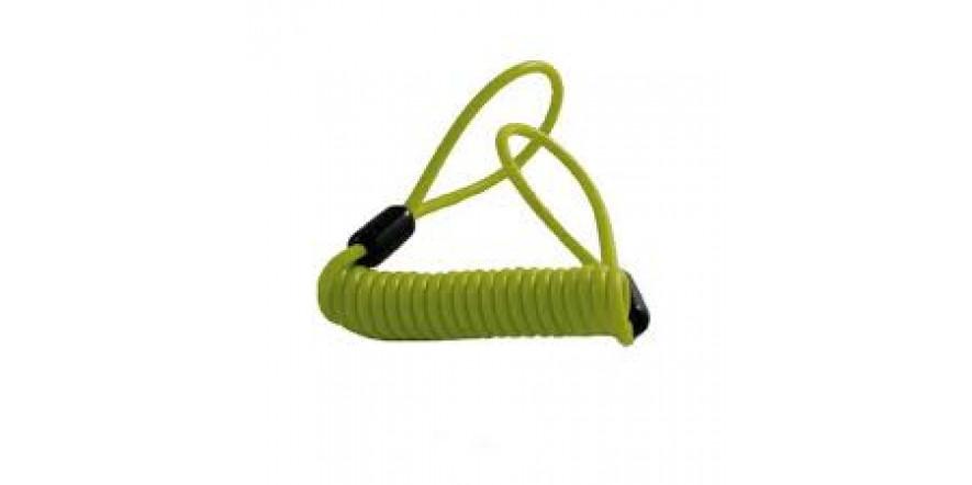Трос к замку Reminder Cable зелёный