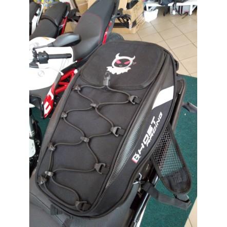 Сумка рюкзак на сиденье мотоцикла для шлема Ghost Racing