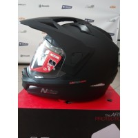 Шлем NITRO MX670 DVS Satin Black
